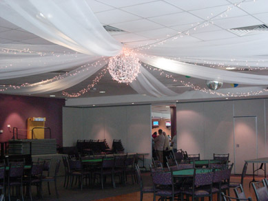 Para Hills Community Club Bud Light Ball, Fairy Lights & Draping 2