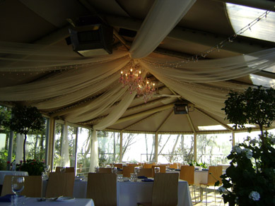Draping & Chandeliers