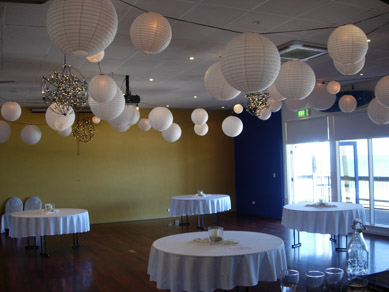West Beach SLSC - After with Lanterns & Bud Light Balls