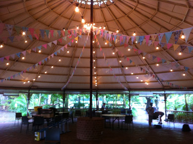 Zoo Rotunda Festoons and Bunting