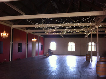Chateau Tanunda Fairy Lights and Chandeliers