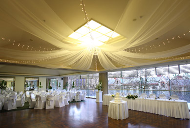 Stamford Plaza - Draping & Fairy Lights