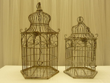 Bird Cages Rustic Med & Lg