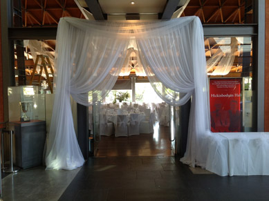 NWC Hickinbotham Organza Entrance