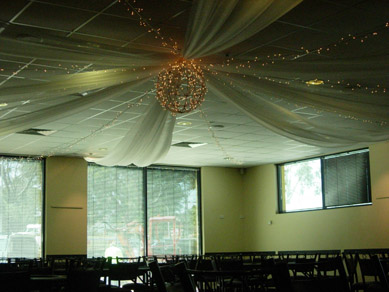 Para Hills Community Club Bud Light Ball, Fairy Lights & Draping