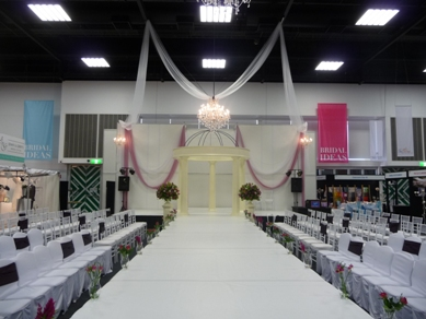 Adelaide Showgrounds Draping & Chandeliers 2