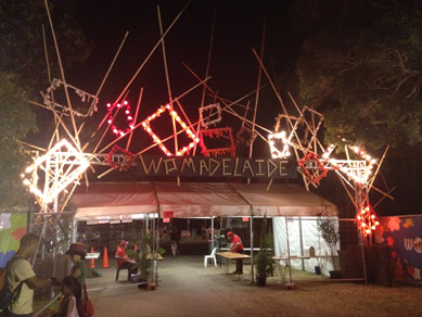 Womadelaide Entrance