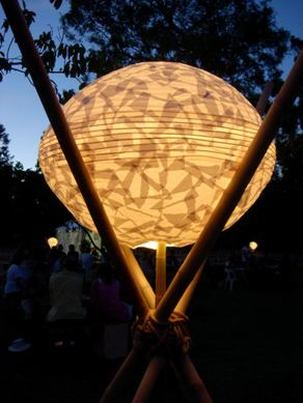 Womadelaide Bamboo and Lanterns