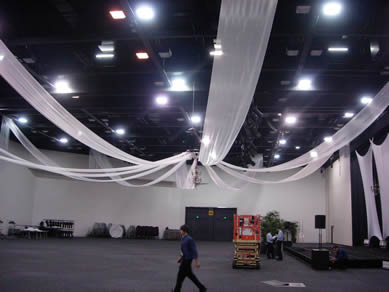 Adelaide Convention Centre - Draping