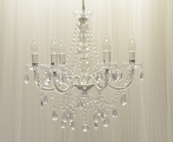 Chandelier Clear Acrylic Crystal 6arm