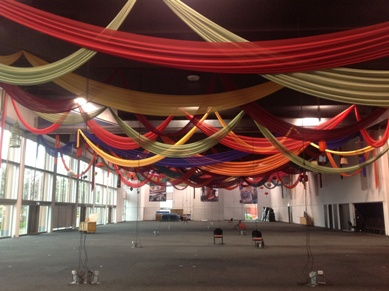 Adelaide Show Grounds Draping and Assorted Lanterns