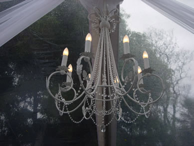 French White Chandelier