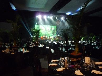 Adelaide Entertainment Centre Plant Table Centres 2