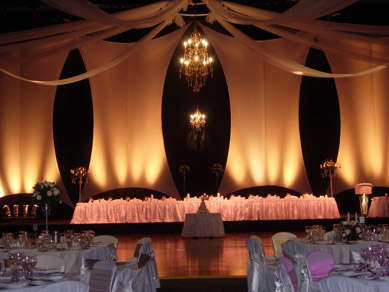 ACC - Draping & Assorted Chandeliers