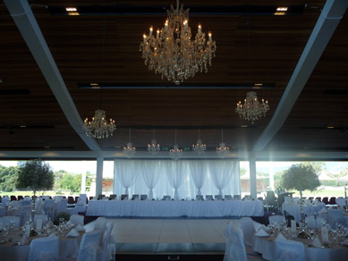 Adelaide Oval Clear Chandelier Cluster