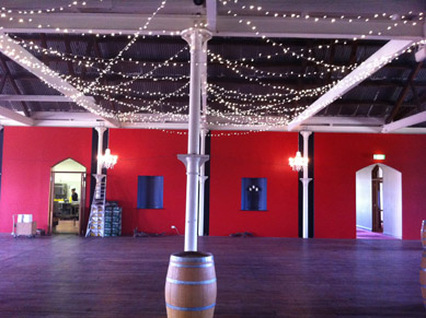 Chateau Tanunda Fairy Lights and Chandeliers 2