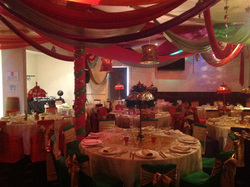 Fabric Draping, Fabric Shades & Fairy Lights