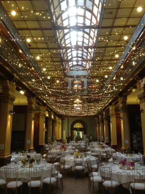 Mortlock Library Fairy Light Ceiling